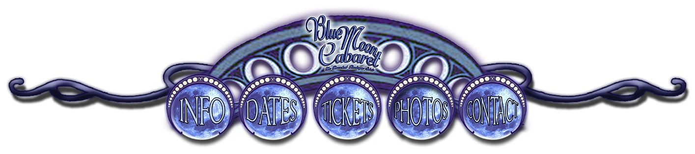 Boudoir Noir presents the Blue Moon Cabaret - The Decadent Burlesque Soirée